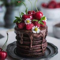 chocolate pancakes deluxe