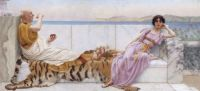 Eighty and Eighteen by John William Godward