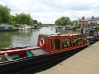 Narrow boat at Ely