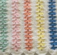 MILE A MINUTE BABY BLANKET