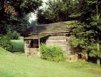 Old Cabin at My Old Ky Home State Park