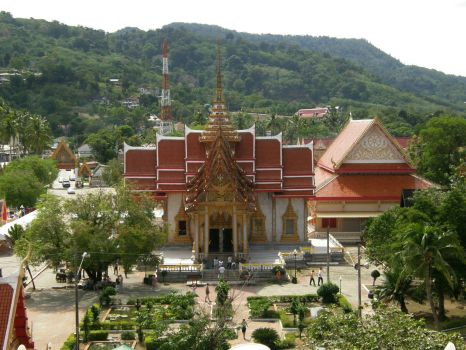 Wat Chalong Temples, in Chalong near Mueang Phuket Town