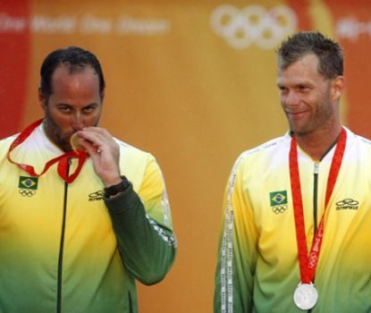 Golden Medal - Ricardo Prada and Robert Scheidt Sailing
