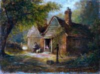 'The Old Fox', Under Croham Hurst, Croydon, Surrey, 1868 by Walter Wm. Acock
