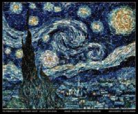 """Starry Night"" mosaic from Hubble Images"