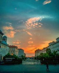 Sunset in Trieste