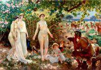 Enrique Simonet - The Judgement of Paris (1904)