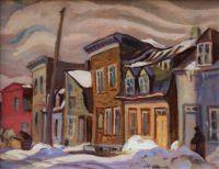 Quebec Village, A. Y. Jackson