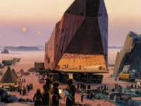The Sandcrawler by Ralph McQuarrie