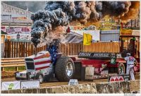 Tractor Pulling at the County Fair