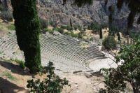 Amphitheater in Delphi
