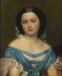 Joseph van Lerius Portrait of Henriette Mayer van den Bergh 1857