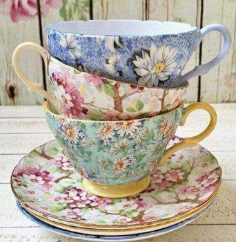 Tea Cup Patterns