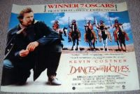 "THEME: Movies  ""Dances With Wolves"" academy award winner (more under Sue49)"