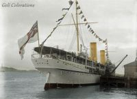 Ophir, converted into the Royal Yacht