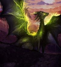 proud green dragon
