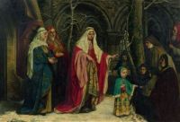 The youth of St. Elisabeth of Hungary