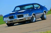 Blue Buick Cutlass 455