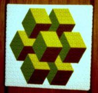 trianglepoint bargello needlepoint - 5