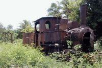 Old train French Polynesia