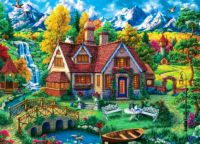 Magic house by the mountains!