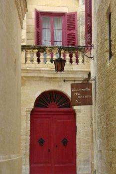 Doors ~ Tea Garden in Malta