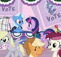 MLP: Don't Forget To Vote by PixelKitties