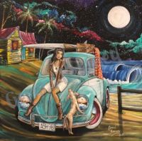 Beetle by the moonlight