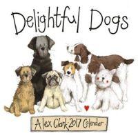 2017 Wall Calendar Delightful Dogs