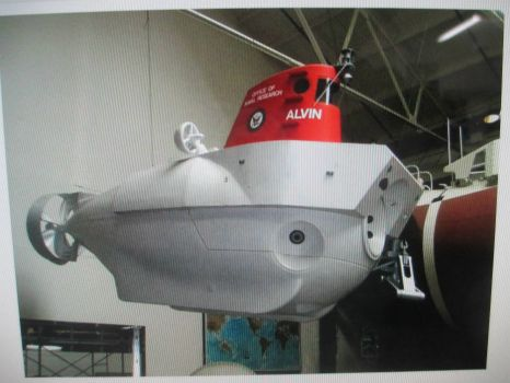 Submersible Vessel Alvin.