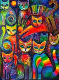 Rainbow Cats 108
