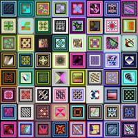 Potpourri343 - Square Dance - Large - rj