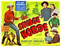 The Savage Horde - 1950
