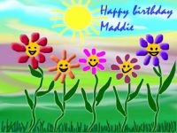 Happy birthday Maddie♥♥♥