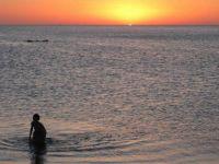 Sunset at Rena Majore, Sardinia