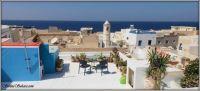 My rooftop patio, Tunisia