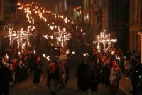 Bonfire Night celebrations in Lewes
