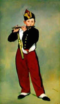 the-fifer by Edouard Manet