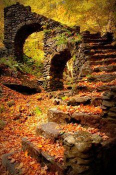 Madame Sherri Castle Ruins, New Hampshire