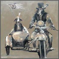 Napi with Dog ~ Farrell Cockrum (Blackfoot)