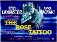THE ROSE TATTOO - 1955 MOVIE POSTER  BURT LANCASTER, ANNA MAGNANI