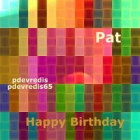 Happy Birthday Pat