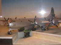Model of Enola Gay at Wendover