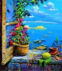 Ferdinando Sapio- Window to the bay