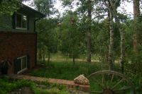 The  Backyard of the Bed and Breakfast in Colorado
