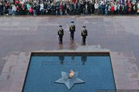 Eternal Flame of Fame at Tomb of Unknown Soldier, Moscow