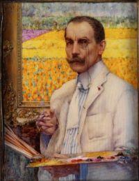 Cecil Jay (British/American, 1883–1984), Portrait of George Hitchcock