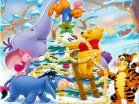 decorating the tree - pooh style