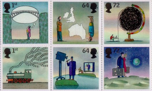 british inventions stamps