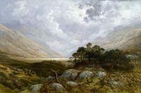 Landscape in Scotland - Gustave Doré, Walters Art Museum USA